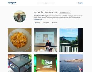 Instagram SoMeAnnes halvprivata